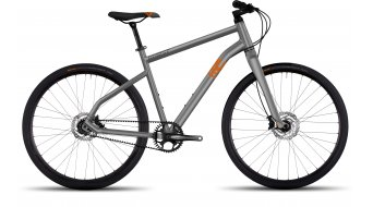 Ghost Square Times AL Fitnessbike Komplettrad Gr. L urban gray/juice orange/titanium gray Mod. 2017
