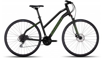 Ghost Square Cross 2 AL Fitnessbike bici completa da donna mis. L black/riot green/urban gray mod. 2017