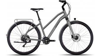 Ghost Square Trekking 8 AL Trekkingbike Komplettrad Damen-Rad urban gray/black Mod. 2017