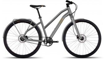 Ghost Square Urban 3 AL Fitnessbike bici completa da donna . urban gray/tan/black mod. 2017