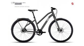 Ghost Square Urban 6 AL Fitnessbike bici completa da donna mis. L urban gray/silver gray/black mod. 2017