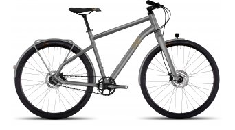 Ghost Square Urban X 7 AL Fitnessbike Komplettrad Damen-Rad Gr. L urban gray/tan/black Mod. 2017