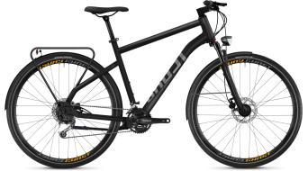"""Ghost Square Trekking 5.8 AL 28"""" Trekking komplett kerékpár night black/titánium grey 2018 Modell"""