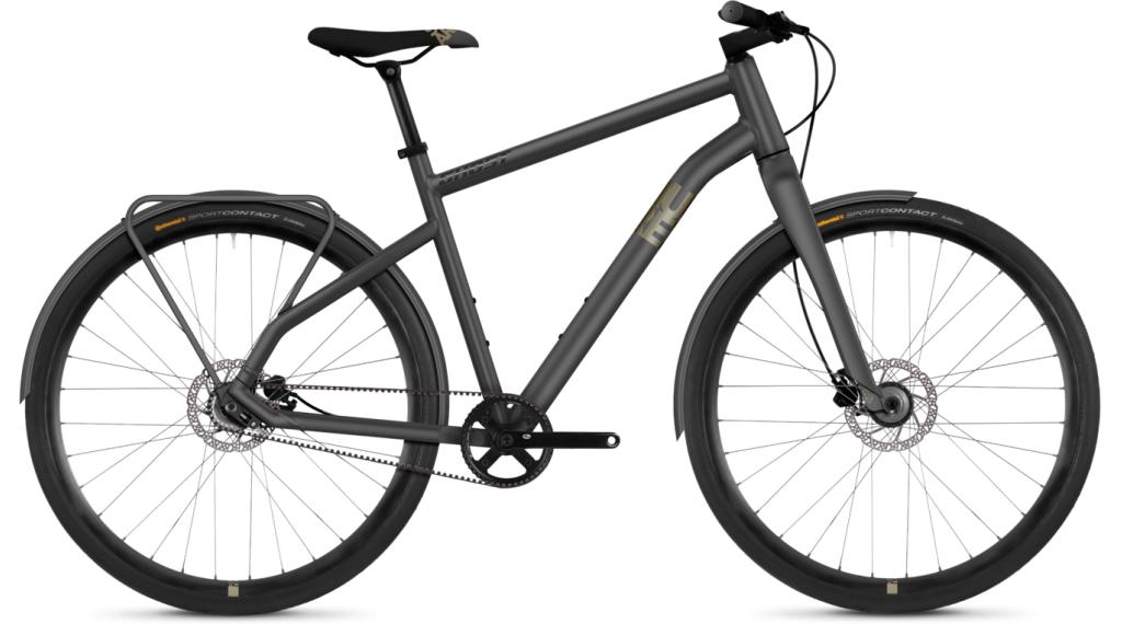 Ghost Square Urban Base AL 28 Fitnessbike bici completa mis. L urban gray/tan/night nero mod. 2021