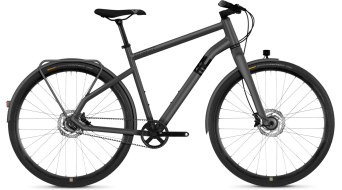 "Ghost Square Urban X7.8 AL 28"" Fitnessbike komplett kerékpár urban gray/night black 2019 Modell"
