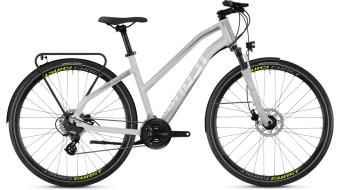 """Ghost Square Trekking 2.8 AL W 28"""" Trekking komplett kerékpár női-Rad Méret L iridium ezüst/micro chip gray 2018 Modell"""