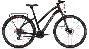 "Ghost Square trekking 2.8 AL W 28"" trekking fiets damesfiets night black/titanium grey model 2018"
