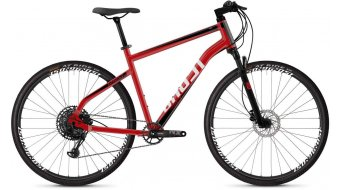 "Ghost Square Cross 4.8 AL and 28"" Fitness bike bike size S riot red/jet black/star white 2019"