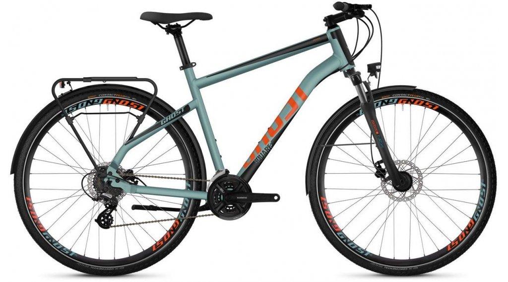 "Ghost Square trekking 2.8 AL U 28"" trekking bici completa mis. S river blue/jet black/monarch arancione mod. 2019"