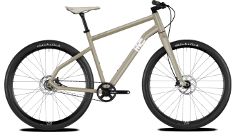 "Ghost Square Times 9.9 AL and 28"" Fitness bike frosted tan/star white 2019"