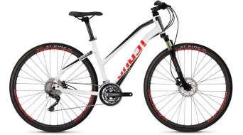"Ghost Square Cross 2.8 AL W 28"" Fitnessbike bici completa da donna . star white/jet black/fiery red mod. 2019"
