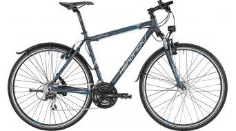 Hendricks CX 550 Gent bici completa da uomo . grigio opaco/grigio chiaro/blu chiaro