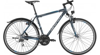 Hendricks CX 550 Gent Komplettbike Herren-Rad grau matt/hellgrau/hellblau
