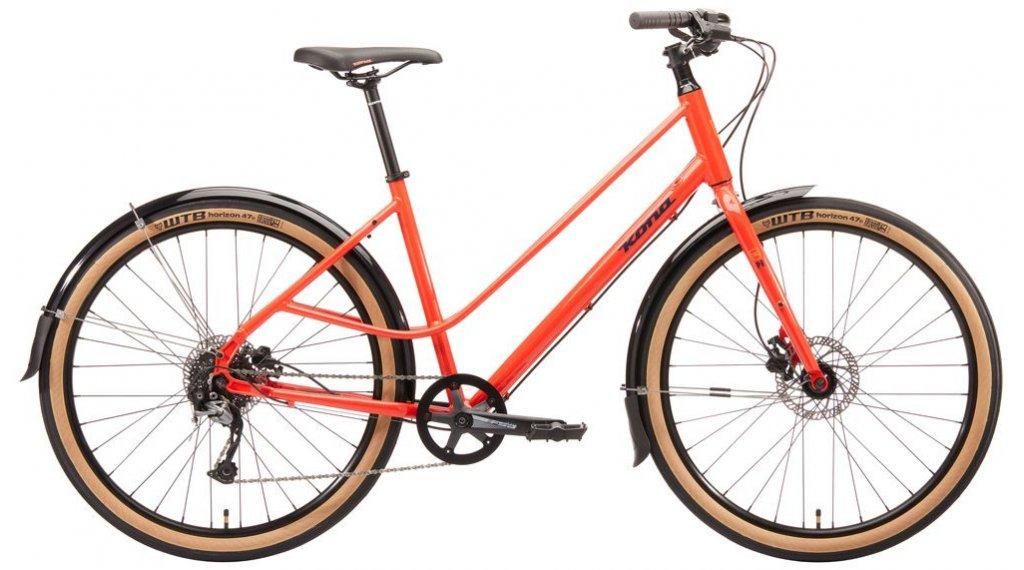 "Kona Coco 27.5"" MTB Komplettrad Damen Gr. S sunset orange Mod. 2020"
