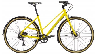 "KONA Coco 28"" kolo matt yellow/mustard decals model 2018"