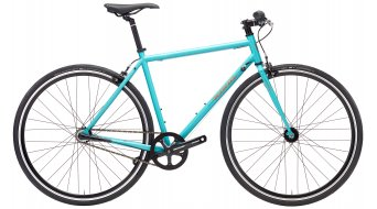 "Kona Paddy Wagon 3 28"" bici completa gloss dirty cyan/copper & charcoal pegatina(-s) Mod. 2018"
