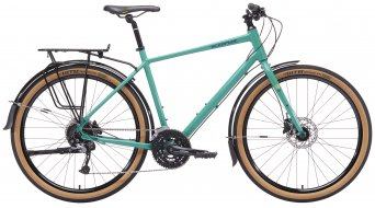 KONA Dew Deluxe 650 Commuter bici completa . seafoam mod. 2019