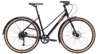 KONA Coco 650 Commuter fiets dames deep red model 2019