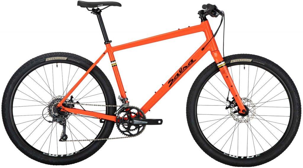 Salsa Journeyman Claris Flatbar 27.5 Trekking Komplettrad Gr. L orange Mod. 2020