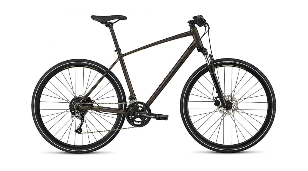 "Specialized Crosstrail Sport 28"" Fitnessbike úplnýrad velikost S rainbow flake pink/nearly black/hyper model 2020"