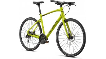 "Specialized Sirrus 2.0 28"" Fitnessbike Komplettrad Gr. XXS gloss hyper green/black/satin black reflective Mod. 2020"