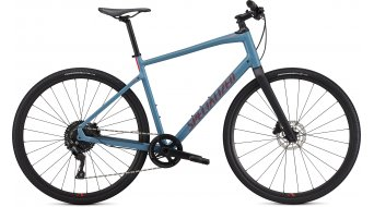 "Specialized Sirrus X 4.0 28"" Fitnessbike 整车 型号 storm grey/rocket red/satin black reflective 款型 2020"