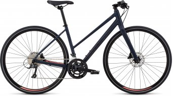 "Specialized Sirrus Sport Step-Through 28"" Fitnessbike 整车 女士 型号 cast blue/acid lava 款型 2020"