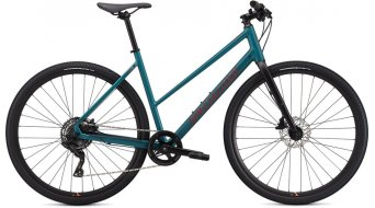 """Specialized Sirrus X 2.0 Step-Through 28"""" Fitnessbike 整车 女士 型号 dusty turquoise/rocket red/black reflective 款型 2020"""