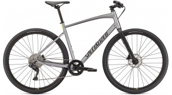 "Specialized Sirrus X 3.0 28"" Fitnessbike Komplettrad Gr. M gloss flake silver/ice yellow/satin black reflective Mod. 2021"