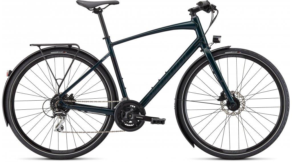 "Specialized Sirrus 2.0 EQ 28"" Fitness bici completa tamaño XXS gloss forest verde/negro reflective Mod. 2022"