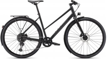 "Specialized Sirrus X 3.0 EQ Step-Through 28"" Fitness bici completa da donna . gloss nearly nero/nero reflective mod. 2022"