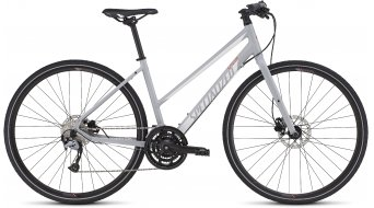 Specialized Vita Sport Disc Step Through Fitnessbike Komplettbike Damen-Rad satin filthy white/metallic white/coral Mod. 2016