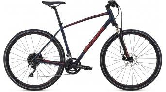 """Specialized Crosstrail Elite 28"""" Фитнес велосипед, размер cast синьо/rocket червено/rocket червено reflective модел 2019"""