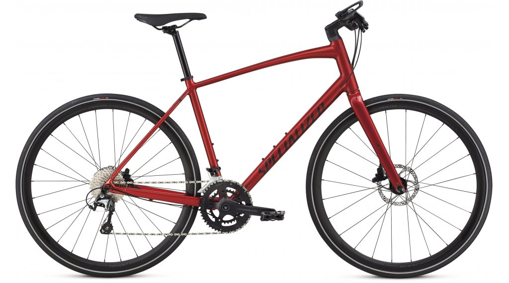 "Specialized Sirrus Elite 28"" Fitnessbike bici completa mis. S candy red/rocket red mod. 2019"