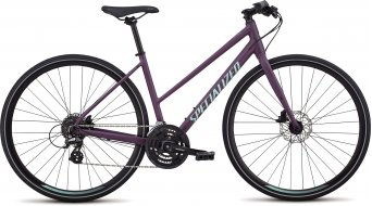 """Specialized Sirrus Step Through 28"""" Fitnessbike dames fiets cast berry/mint model 2019"""