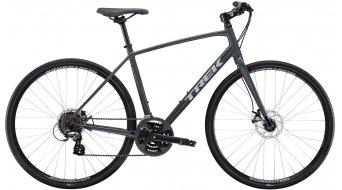 """Trek FX 1 Disc 28"""" Fitnessbike komplett kerékpár solid charcoal 2021 Modell"""