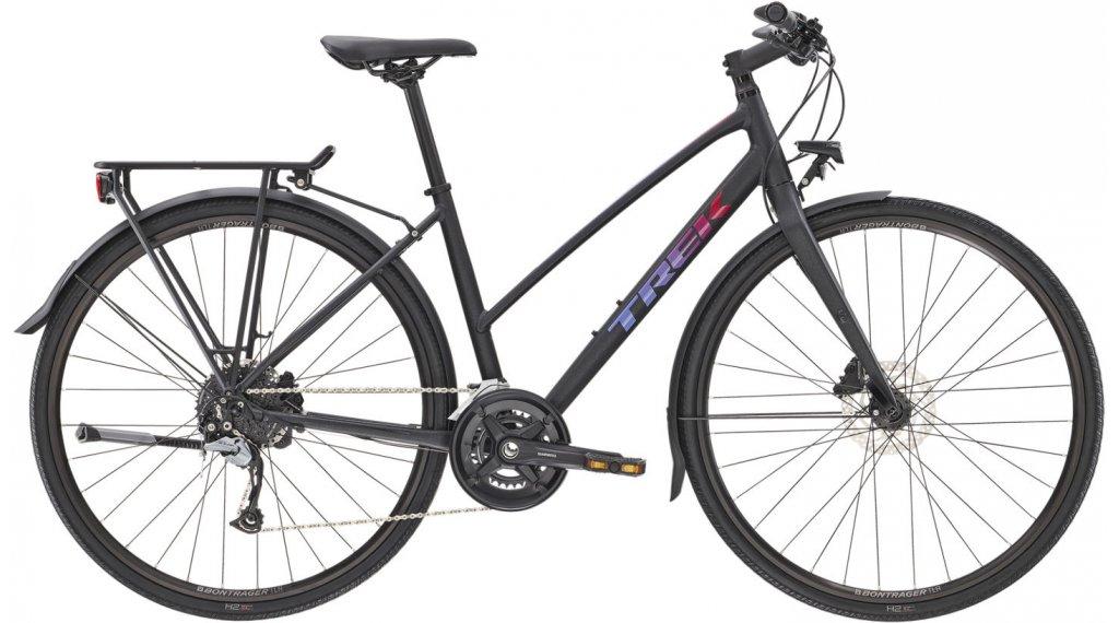"Trek FX 3 Disc Equipped Stagger 28"" Fitnessbike Komplettrad Gr. M voodoo trek black Mod. 2021"
