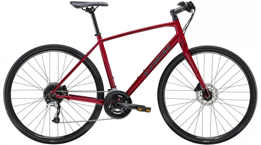 "Trek per 3 Disc 28"" Fitnessbike bici completa mis. XL rage rosso mod. 2021"