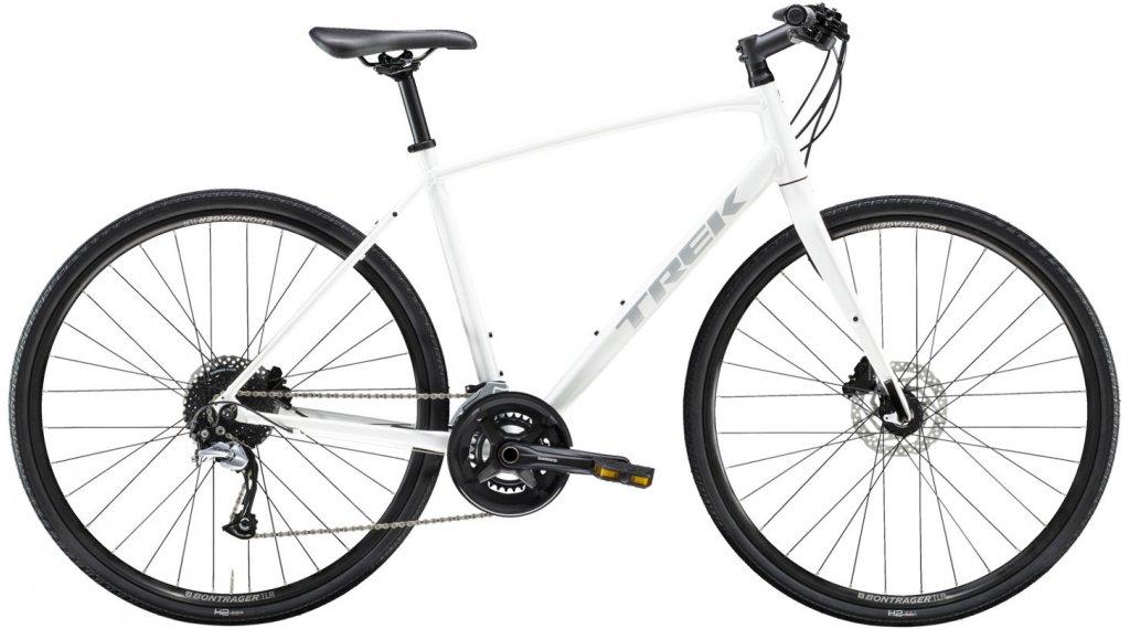 "Trek per 3 Disc 28"" Fitnessbike bici completa mis. XL crystal bianco mod. 2021"