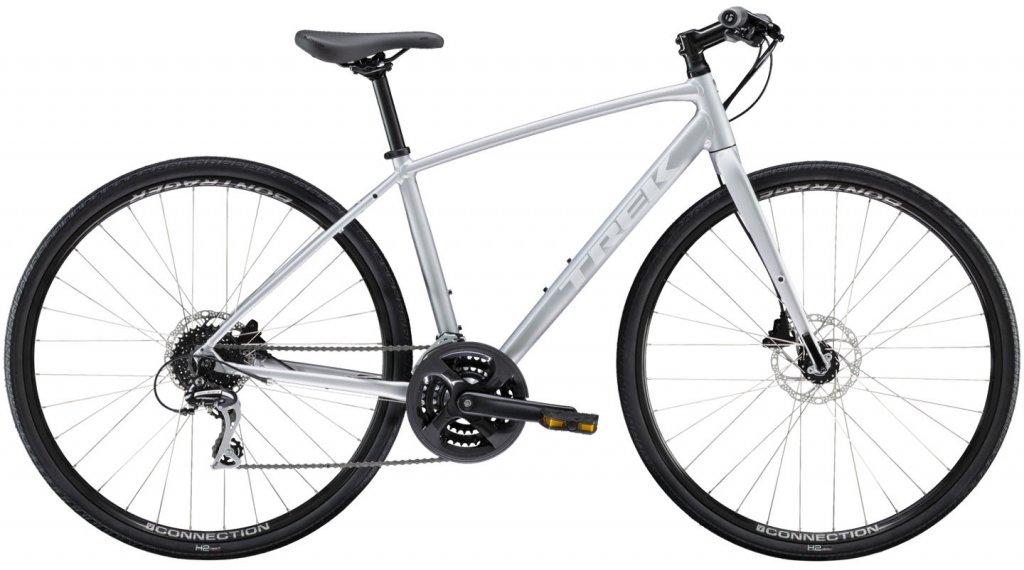 "Trek FX 2 Disc 28"" Fitnessbike Komplettrad Damen Gr. S matte quicksilver Mod. 2020"