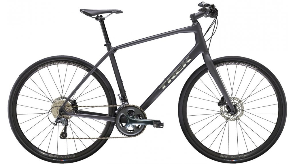 "Trek FX Sport 5 28"" bici de fitness bici completa tamaño L matte dnister negro Mod. 2021"