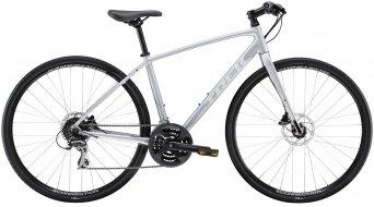 """Trek FX 2 Disc 28"""" Fitnessbike úplnýrad matt quicksilver model 2021"""