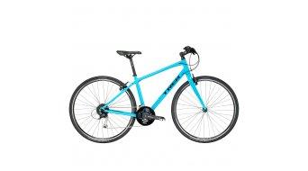 Trek FX 3 WSD Fitnessbike bici completa da donna mis. 44.5cm (17.5) california skye blue mod. 2017