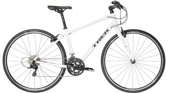 Trek FX S 4 WSD Fitnessbike bici completa da donna . crystal white mod. 2017