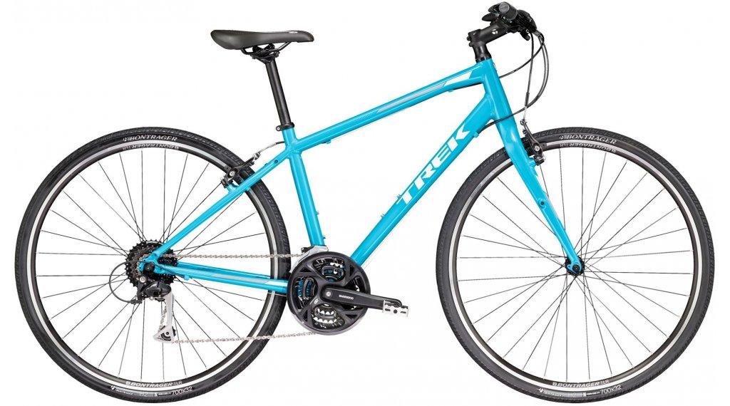 """Trek per 3 WSD Fitnessbike bici completa da donna mis. M (17"""") california sky blue mod. 2018"""