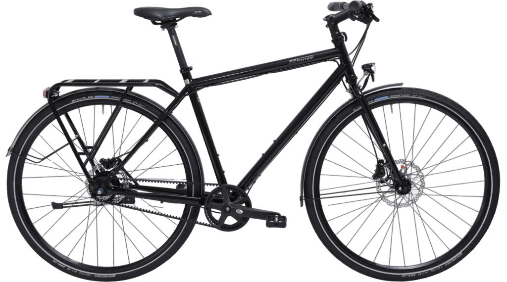 Tout Terrain Via Veneto Alfine Classic 28 Trekking bici completa tamaño S negro(-a)