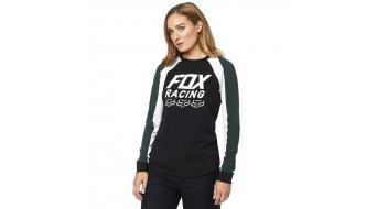 Fox Overdrive Top langarm Damen Gr. S black - Sample
