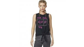 Fox Squared Tie Tank Top Damen