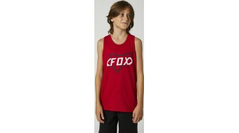 Fox Cyclops Top 无袖 儿童 型号 M chili- Sample