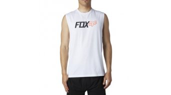 FOX Warmup Tank Top no sleeve men-Tank Top size XL optic white